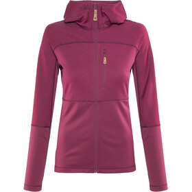 Fjällräven Abisko Trail Fleece Jas Dames, plum